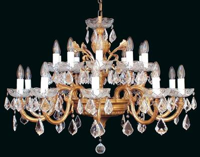 Brass chandelier EL8502004pt
