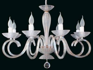Clear Glass Chandelier EL2238024