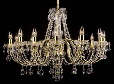 Chandelier with brass arms PAB095202012-PO