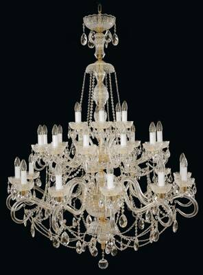 Chandelier crystal large EL6833001