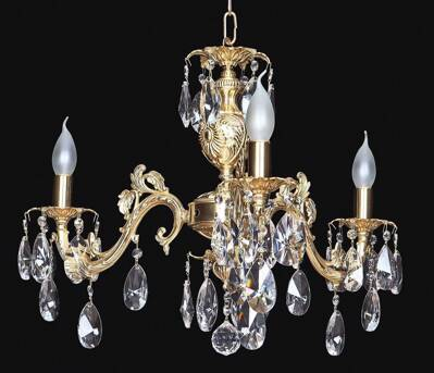 Brass chandelier EL855302