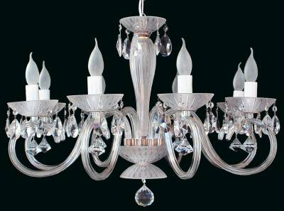 Clear Glass Chandelier EL2238022