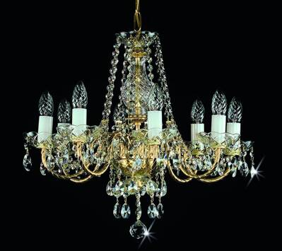 Chandelier with metal arms L179CE