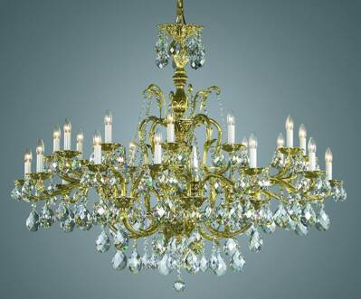 Historical cast chandelier PL137
