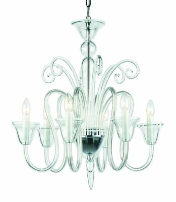 Clear Glass Chandelier RY4282572-P