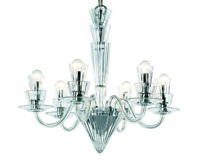 Modern chandelier Humprecht 6
