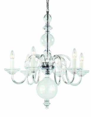 Glass chandelier RY4282121-P