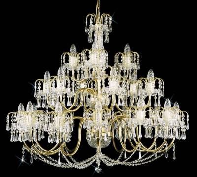 Chandelier with metal arms TX224000021