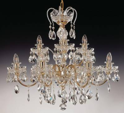Chandelier with metal arms EL900901
