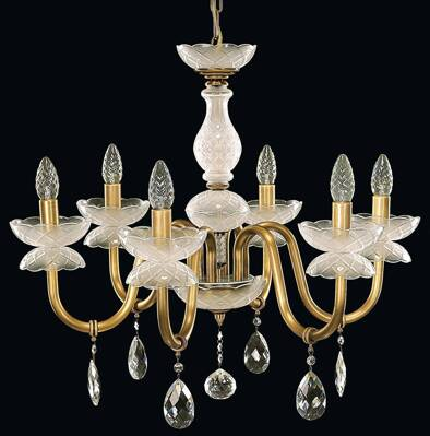 Chandelier with metal arms EL906601MPT
