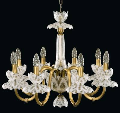 Chandelier with metal arms EL605819MPT