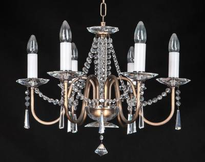 Chandelier with metal arms EL917603PT