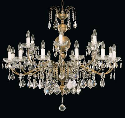 Chandelier with metal arms EL9001802PT