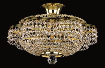 Crystal ceiling lamp strass L278CE