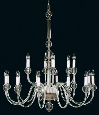 Clear Glass Chandelier EL4301800