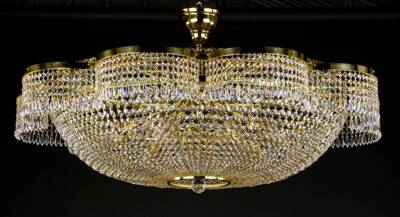 Large crystal ceiling lamp L276CE