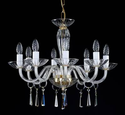 Clear Glass Chandelier L146CE