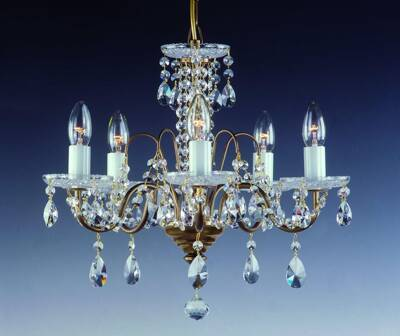Chandelier with metal arms AL086