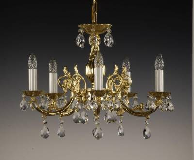 Chandelier cast brass AL092