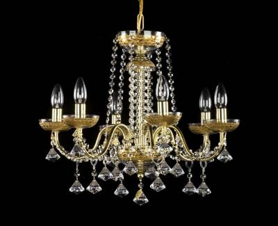 Chandelier with metal arms AL103