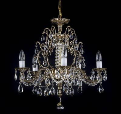 Brass chandelier AL174