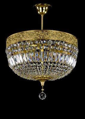 Ceiling Light Basket L290SW Swarovski Spectra