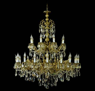 Chandelier brass large ALL1311627