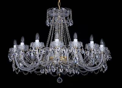 Cut crystal luxury chandelier L033CE