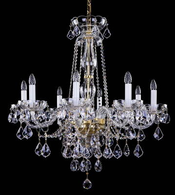 Cut glass crystal chandelier luxury L16043CE