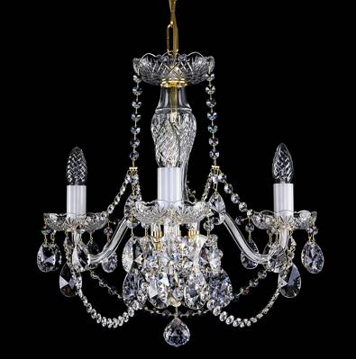 Cut glass crystal chandelier L16050CE