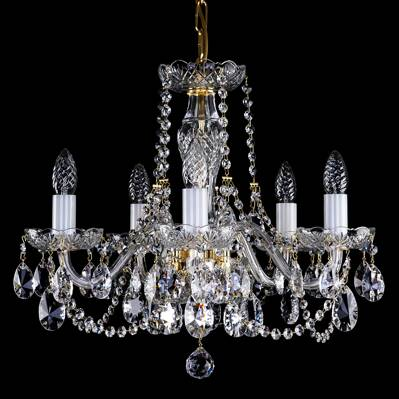 Cut glass crystal chandelier L16051CE