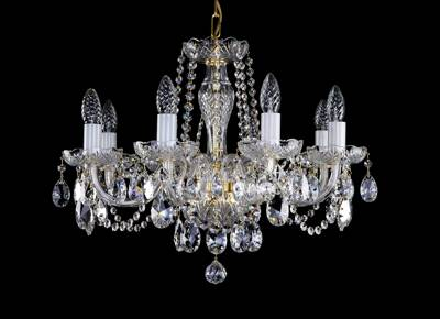 Cut glass crystal chandelier L16053CE