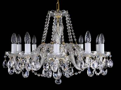 Cut glass crystal chandelier L16056CE