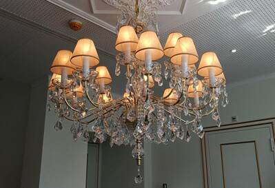 Chandelier with metal arms EL9001802SIRM