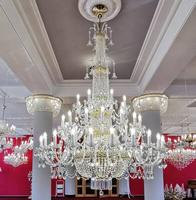 Crystal chandelier EL74448+902