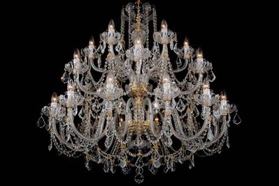 Crystal chandelier LUCH24SW