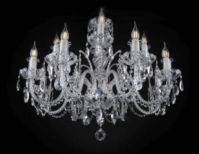 Chandelier crystal EL1028+402PB