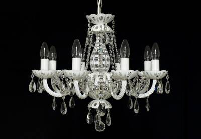 Chandelier coloured white LW101083101White