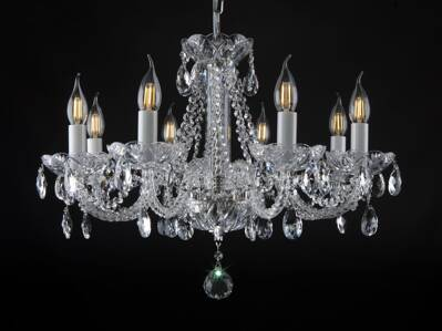 Crystal chandelier EL108801PB