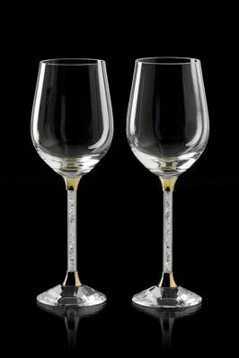 Crystal wine Glass 2pcs