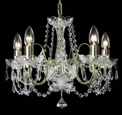 Chandelier with metal arms TX234000005