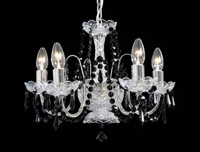Chandelier with metal arms TX234081005
