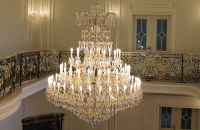 Crystal chandelier L40372PCE