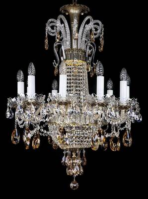 Crystal chandelier luxury L16035CE