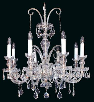 Cut crystal chandelier EL670801SWPb