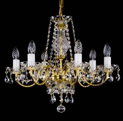 Chandelier with metal arms L182CE