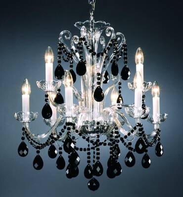 Crystal chandelier PL015CJ - PO
