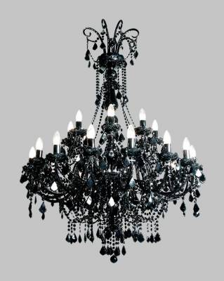 Chandelier crystal black TX840080024