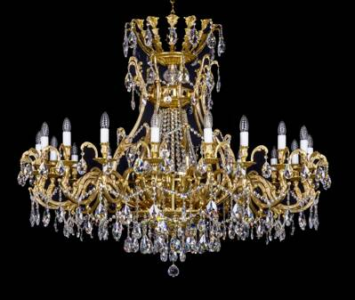Brass chandelier luxuryL367CE