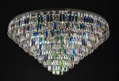 Modern chandelier LW024150100 blue